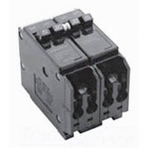Eaton / Cutler Hammer BQ2502120 Circuit Breaker; (2) Single Pole 20 Amp, (1) Two Pole 50 Amp, 120/240 Volt AC At 50 Amp, 120 Volt AC At 20 Amp, 4-Pole, Plug-On Mount
