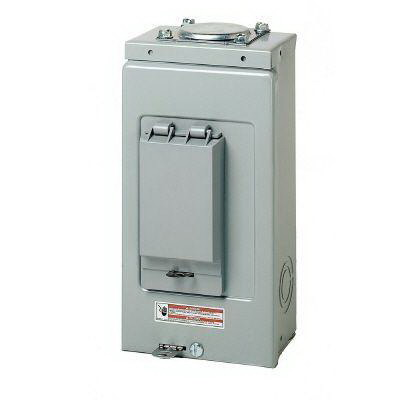 Eaton / Cutler Hammer BR24L70RP Main Lug Load Center; 70 Amp, 120/240 Volt AC, 1 Phase, 2 Space, 4 Circuit, 3-Wire