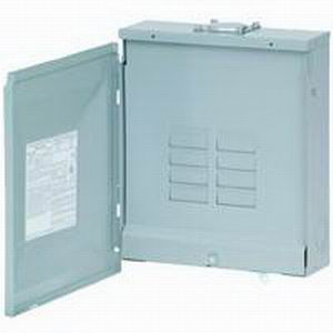 Eaton / Cutler Hammer BR816L125RP Main Lug Load Center; 125 Amp, 120/240 Volt AC, 1 Phase, 8 Space, 16 Circuit, 3-Wire