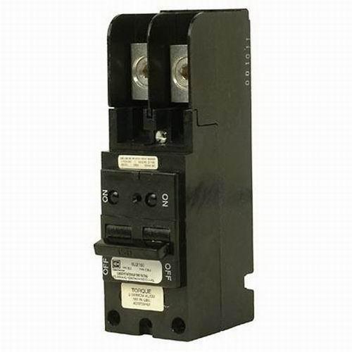 Eaton / Cutler Hammer BJ2150 Main Circuit Breaker; 150 Amp, 120/240 Volt AC, 2-Pole, Plug-On Mount