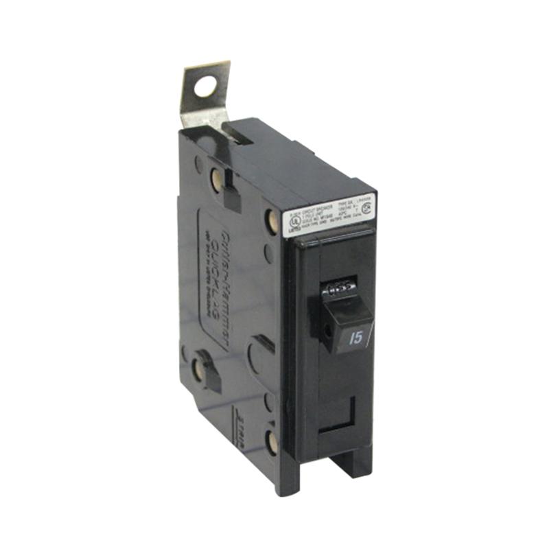 Eaton / Cutler Hammer BAB1030 QuickLag® Circuit Breaker; 30 Amp, 120/240 Volt AC, 1-Pole, Bolt-On Mount