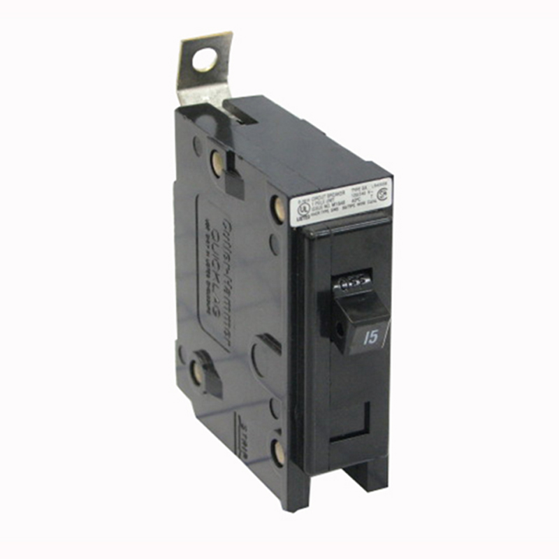 Eaton / Cutler Hammer BAB1025 QuickLag® Circuit Breaker; 25 Amp, 120/240 Volt AC, 1-Pole, Bolt-On Mount