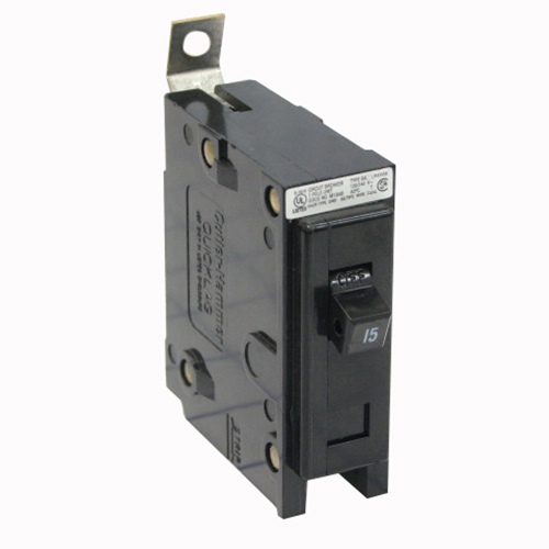 Eaton / Cutler Hammer BAB1040 QuickLag® Circuit Breaker; 40 Amp, 120/240 Volt AC, 1-Pole, Bolt-On Mount