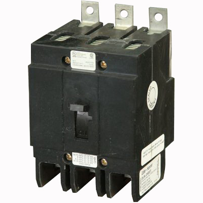 Eaton / Cutler Hammer GHB3025 Series C Molded Case Circuit Breaker; 25 Amp, 277/480 Volt AC, 125/250 Volt DC, 3-Pole, Bolt-On Mount