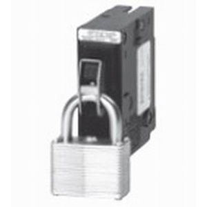 Eaton / Cutler Hammer QL1PL Padlockable Handle Lock; For 1-Pole Circuit Breaker