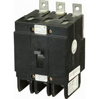 Eaton / Cutler Hammer GHB3090 Series C Molded Case Circuit Breaker; 90 Amp, 277/480 Volt AC, 125/250 Volt DC, 3-Pole, Bolt-On Mount