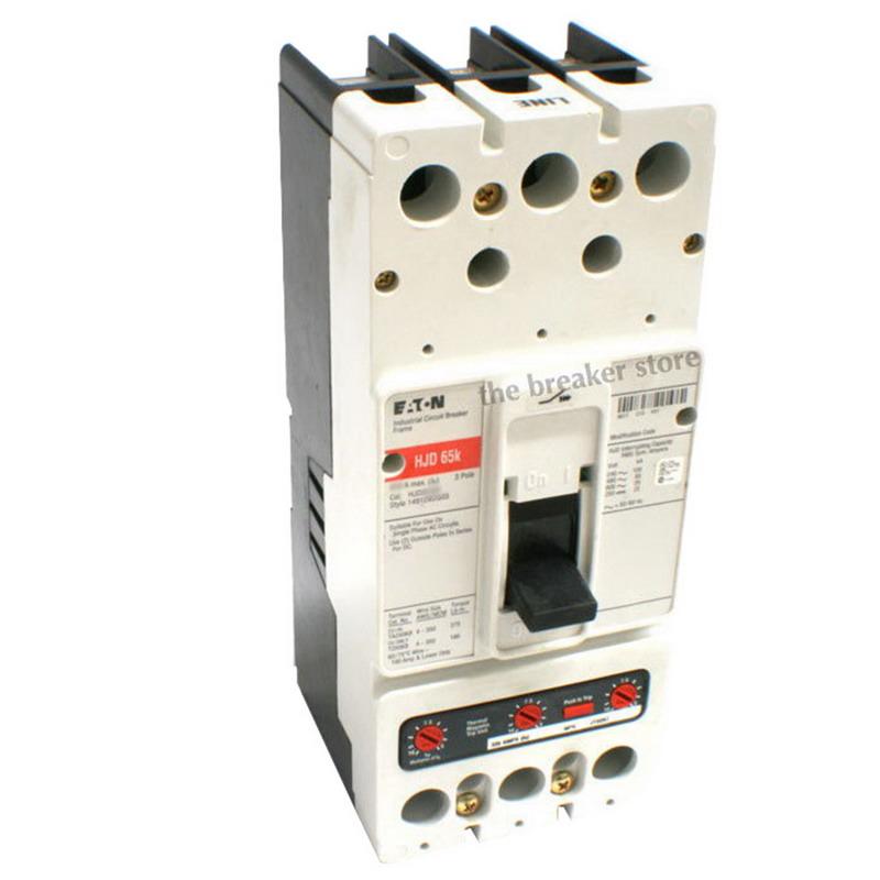 """""Eaton / Cutler Hammer HKD3400F Series C Molded Case Circuit Breaker 400 Amp, 600 Volt AC, 3-Pole,"""""" 466997"