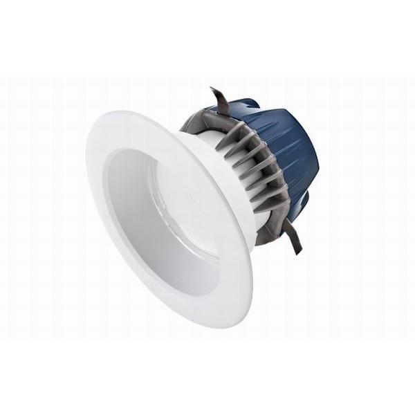 Cree CR4-575L-27K-E26 1-Light Ceiling Mount CR4-Series Round 4 Inch LED Downlight; 9.5 Watt, 575 Lumens, White