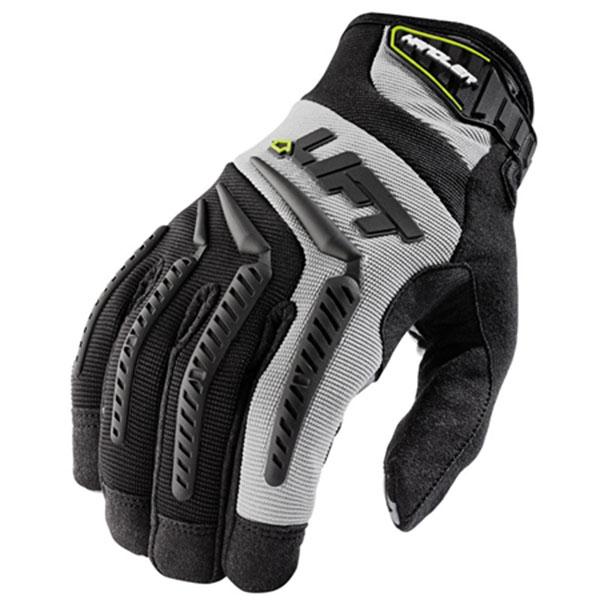 Lift Safety GHR-6K1L Handler Work Gloves; X-Large, Gray, Black Accent