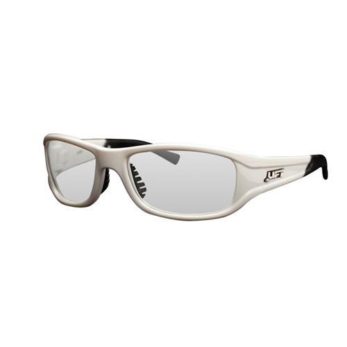 Lift Safety EAS-10WC Pro-Series Alias Protective Eyewear; Medium, White Frame, Clear Lens
