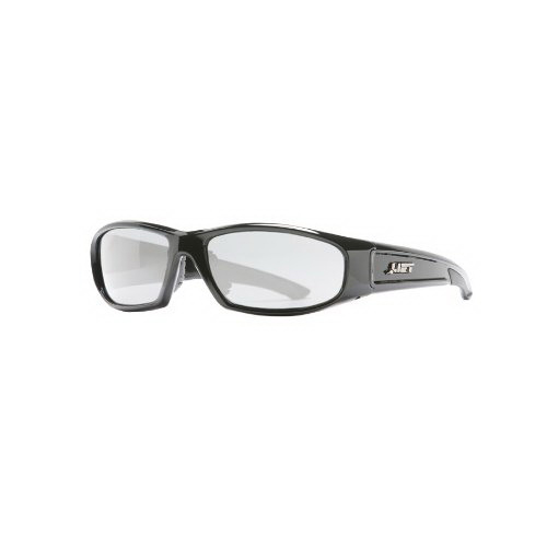 Lift Safety ESH-10KC Pro-Series Switch Protective Eyewear; Black Frame, Clear Lens