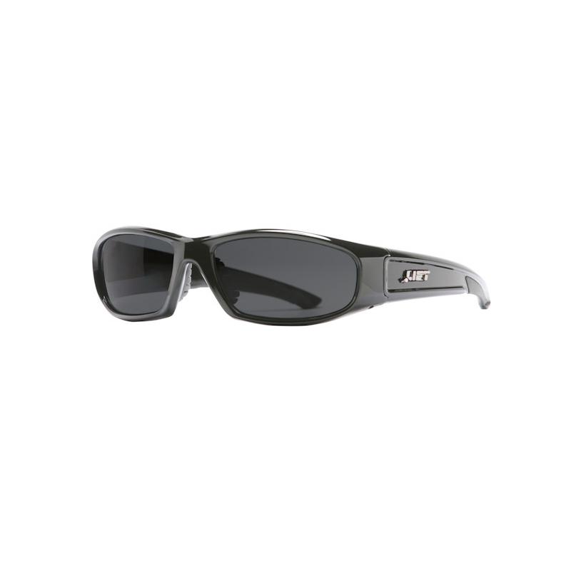 Lift Safety ESH-10KP Pro-Series Switch Polarized Protective Eyewear; Black Frame