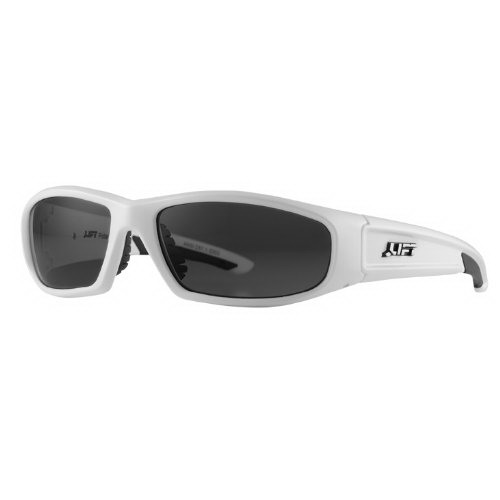 Lift Safety ESH-10WP Style-Series Switch Polarized Protective Eyewear; White Frame