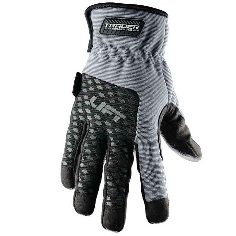 Lift Safety GTR-6KM Pro Series Multi-trade Gloves; Medium, Gray, Black Accent