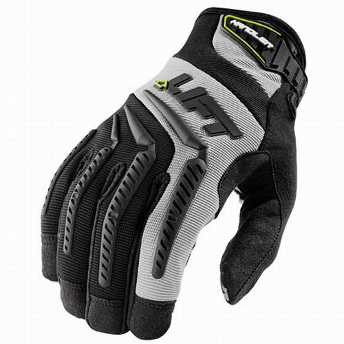Lift Safety GHR-6KL Handler Work Gloves; Large, Gray, Black Accent
