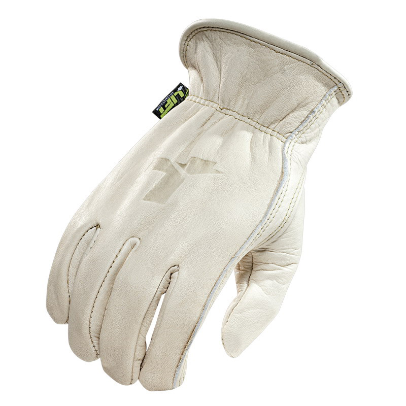 Lift Safety G8S-6S1L Workman Series 8 Seconds Gloves; X-Large, White