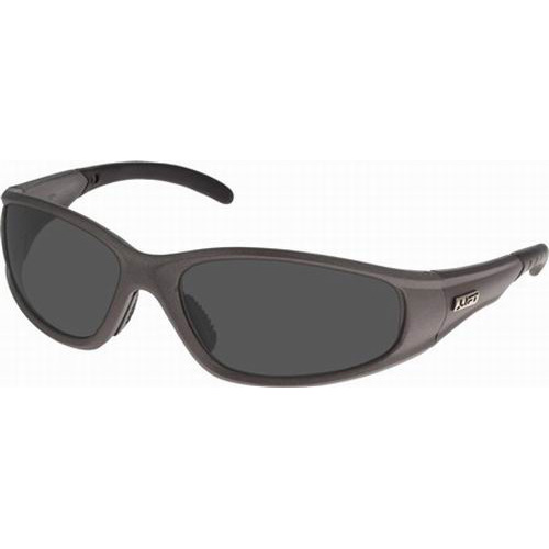Lift Safety ESR-6ST Workman Series Strobe Eyewear; Black Frame, Smoke Lens