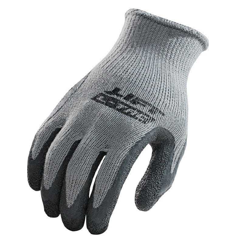 Lift Safety GPL-10YL Workman Series Palmer L-Tac Gloves; Large, Gray