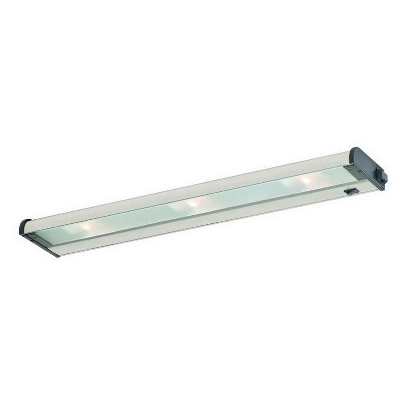 CSL Creative NCAX120-24 CounterAttack® 3-Light Xenon Lamp Under-Cabinet Light Fixture; 35 Watt, Powder-Coated