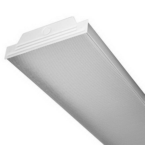 Nulite WAP232T8-120V-ISN-1PS-CP3/10 2-Light Surface/Individually/Continuous Rows Mount WAP Series Low Profile Fluorescent Wraparound Fixture; 32 Watt, White Enamel