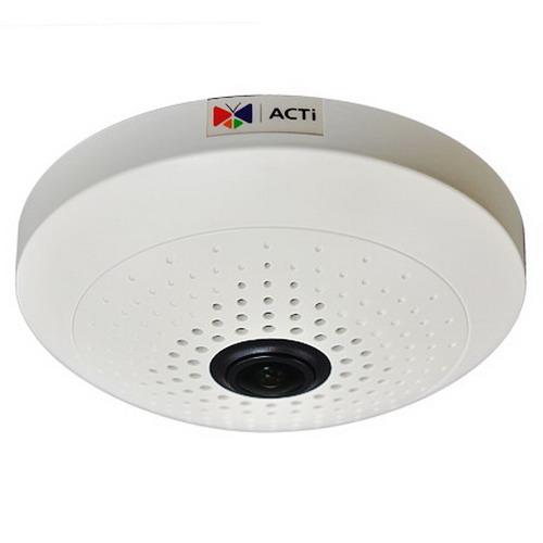 """""Acti Corporation B55 Fisheye Dome Camera 10 Megapixel,"""""" 95695"