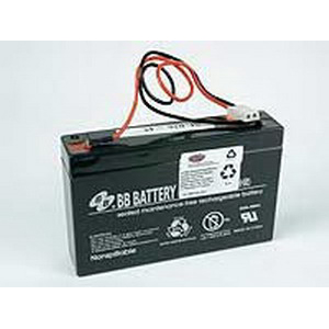Interstate SLA0926 Replacement Sealed Lead Acid 1ZV11 Battery; 6 Volt DC, 7 Amp-Hour
