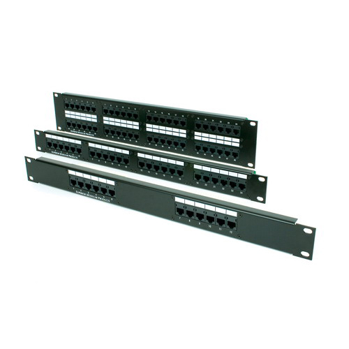 Optical DCC2488/110A5E OCC® 110-Punchdown Category 5e Patch Panel; Rack Mount, 24-Port, 1-Rack Unit