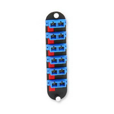 """""Corning CCHCP1259 SC Closet Connector Housing Panel Singlemode OS2, 6 Duplex Fibers, Blue,"""""" 87005"
