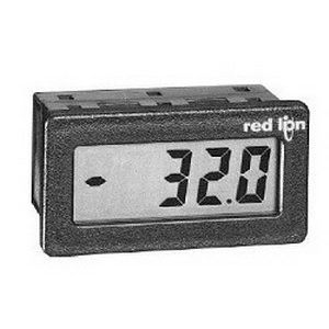 Red Lion CUB4V020 Digital DC Voltmeter; 9 - 28 Volt DC, 199.9 Micro-Amp DC, LCD Display