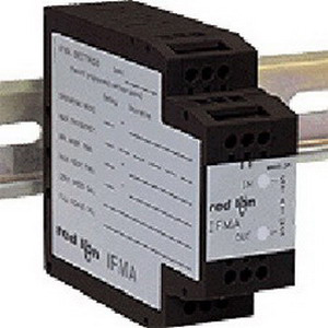 Red Lion IFMA0065 Model IFMA Frequency to Analog Converter; Black, DIN Rail Mount, 85 - 250 Volt AC