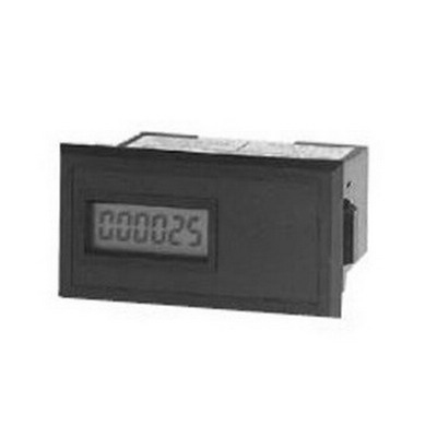 Red Lion CUB3T300 Remote Reset Miniature Electronic Counter With Lithium Battery; 1 Hour, 10 - 300 Volt At 50/60 Hz