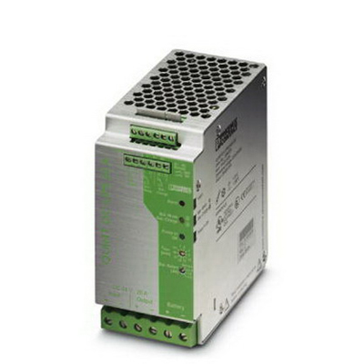 Phoenix Contact Phoenix 2866239 Quint-DC-UPS Power Supply; 24 Volt DC Input/24 Volt DC Output, 22 Amp, DIN Rail Mounting