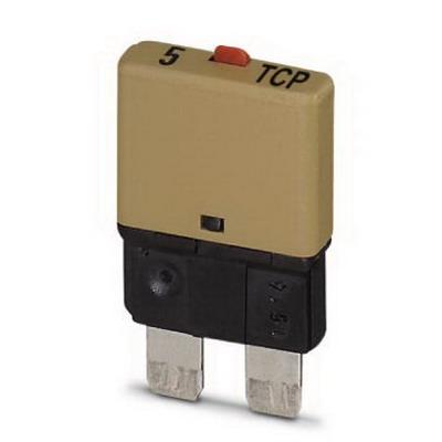 Phoenix Contact Phoenix 0700005 Circuit Breaker; 5 Amp, 32 Volt DC, On Base Element Mount