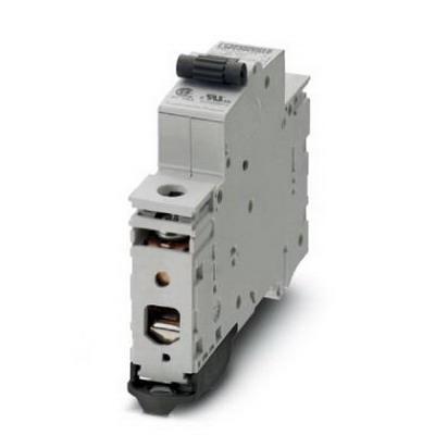 Phoenix 0902108 Circuit Breaker; 20 Amp, 240/415 Volt AC/48 Volt DC, 1-Pole, 35 mm DIN Rail Mount