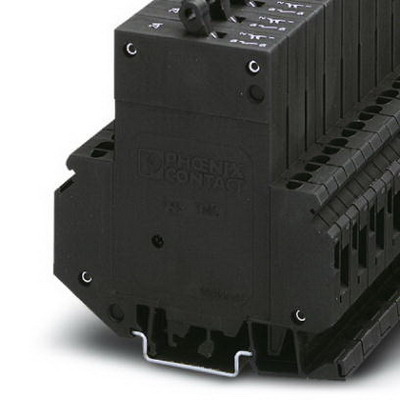 """""Phoenix Contact Phoenix 0914497 Circuit Breaker 5 Amp, 250 Volt AC/65 Volt DC, 35 mm DIN Rail Mount,"""""" 438502"