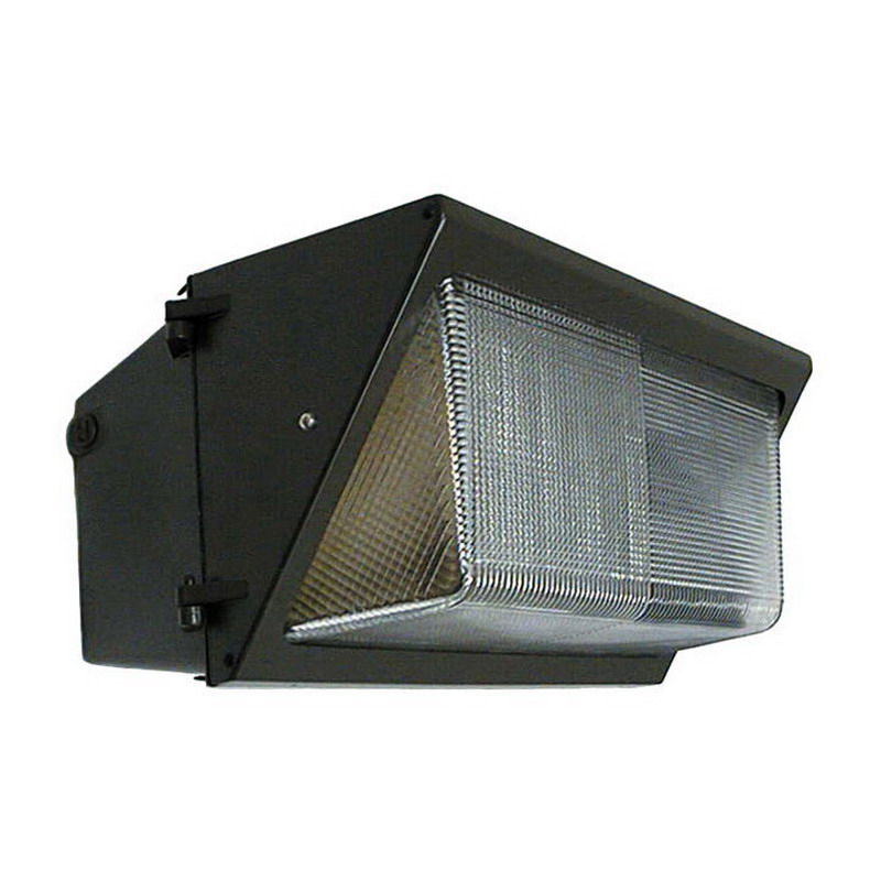 Deco Lighting D404LED-120-50-UNV-BZ Large LED Wallpack; 120 Watt, Bronze