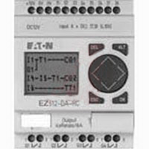 Eaton / Cutler Hammer EASY512-DA-RC Intelligent Relay; 12 Volt DC, DIN Rail Mount