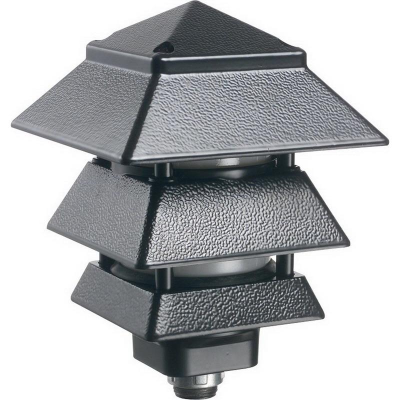 Arlington GPP60LBR Landscape Light Fixture; 40/14 Watt, Bronze, Lamp Not Included