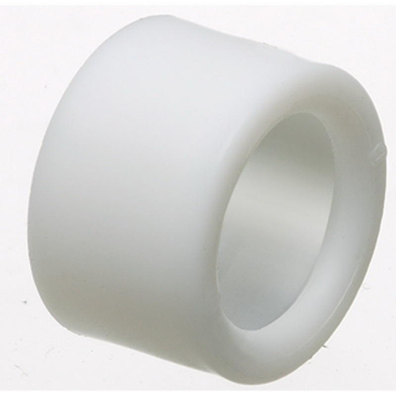 Arlington EMT400 Plastic Press-On Insulated Bushing; White, 4 Inch