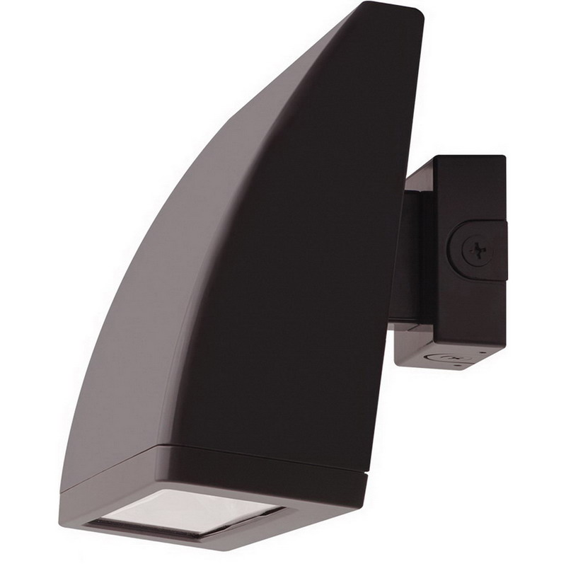 RAB WPLED104N Wall Bracket Mount LED Wallpack; 104 Watt, Polyester Powder-Coated, Lamp Included