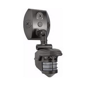 RAB STL360 Security Sensor Bell Flood Light Kit; 120 Volt AC At 60 Hz, 1000 Watt Switching Capacity, Die-Cast Aluminum, Bronze