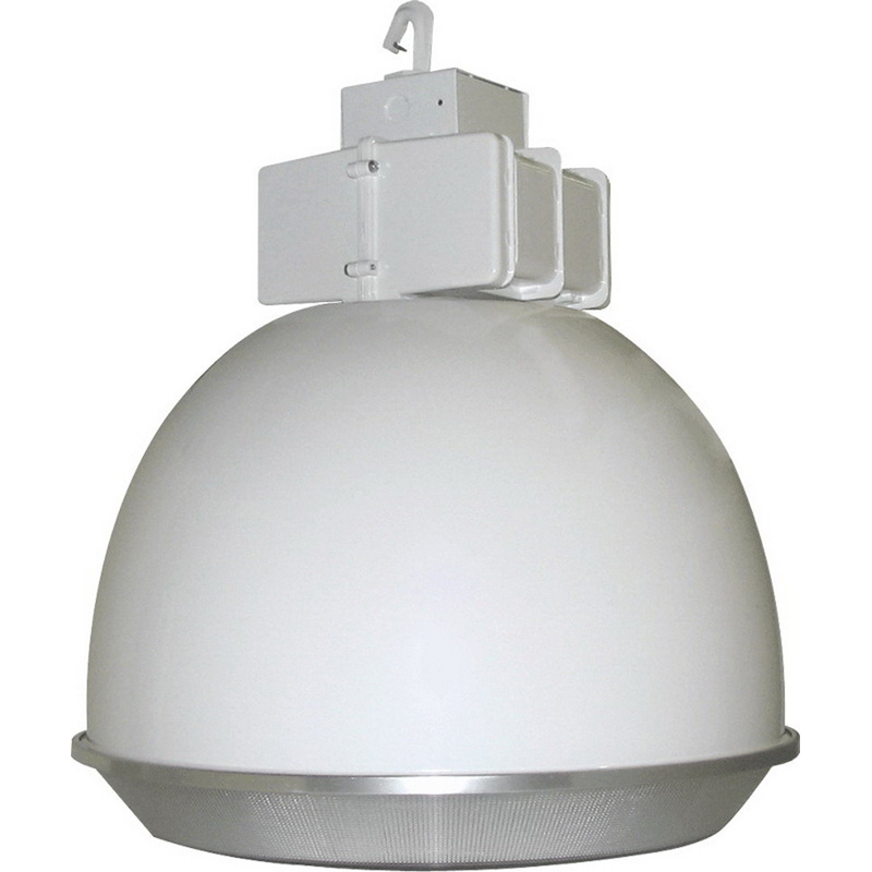 1000 Watt Metal Halide High Bay Light Fixtures: RAB BLH400AW22DLPSQ Metal Halide HID Low Bay Fixture; 400