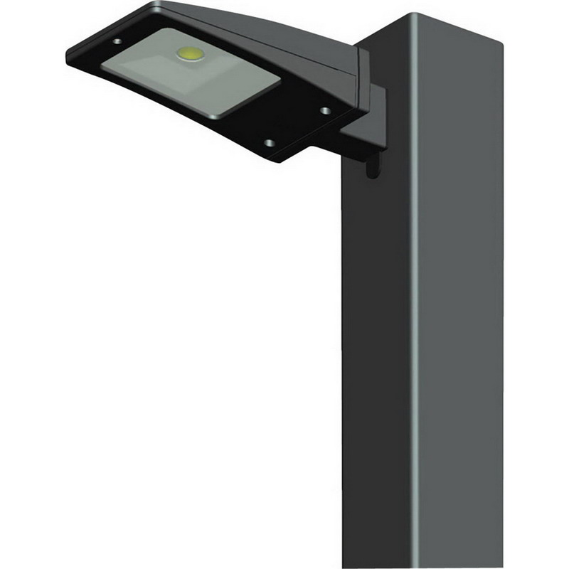 """""RAB ALED13 Type III LED Area Light 13 Watt, 1064 Lumens, Bronze Polyester Powder-Coated,"""""" 520598"