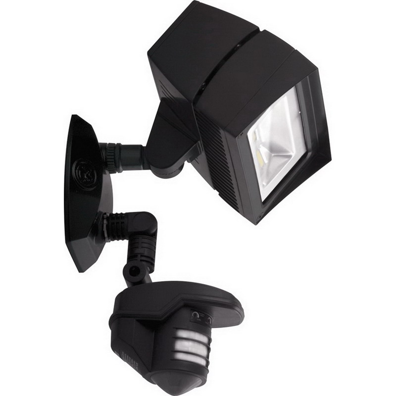 Rab Motion Security Light: RAB STL3FFLED18 LED Flood Light; 18 Watt, 681 Lumens