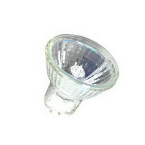 Halco Lighting MR11FTH/L Prism® Dichroic Reflector MR11 Halogen Lamp; 35 Watt, 12 Volt, 2900K, Bi-Pin (GU4) Base, 3000 Hour Life
