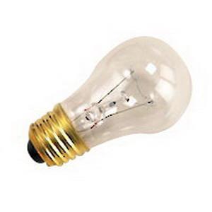 Halco Lighting A15CL60 A15 Incandescent Lamp; 60 Watt, 130 Volt, Medium Screw (E26) Base, 3000 Hour Life, Clear