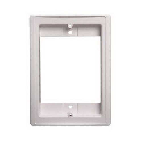 Broan Nu-Tone NF300DWH Faceplate Door Speaker Retrofit Frame; Surface Mount, White