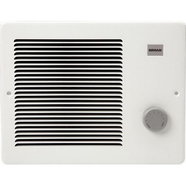 Broan Nu-Tone 178 Wall Heater; 6827 BTU/Hour, 2000/1000 Watt, Black Epoxy Paint