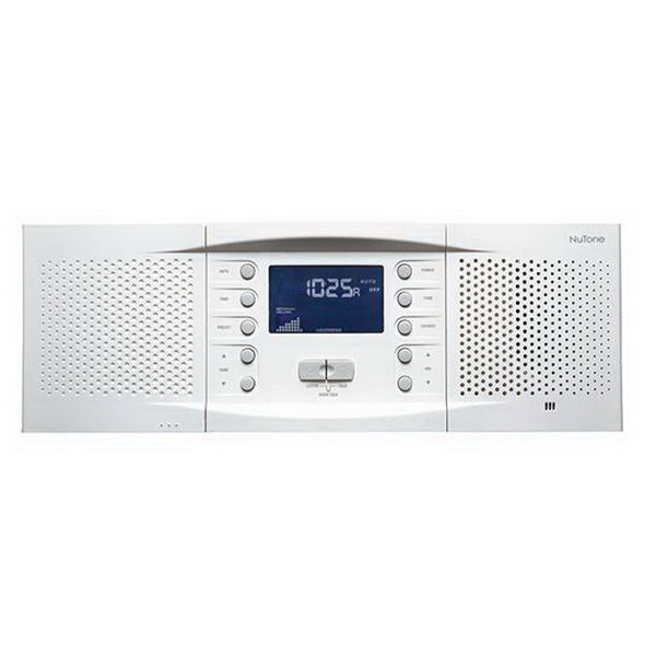 Broan Nu-Tone NM100WH Master Station Intercom; 15.250 Inch Width x 3.250 Inch Depth x 5.3125 Inch Height, White