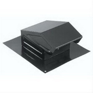 """""""""""Broan Nu-Tone 636 Roof Cap For 3.000 Or 4 Inch Round Duct, Black,"""""""""""" 96848"""
